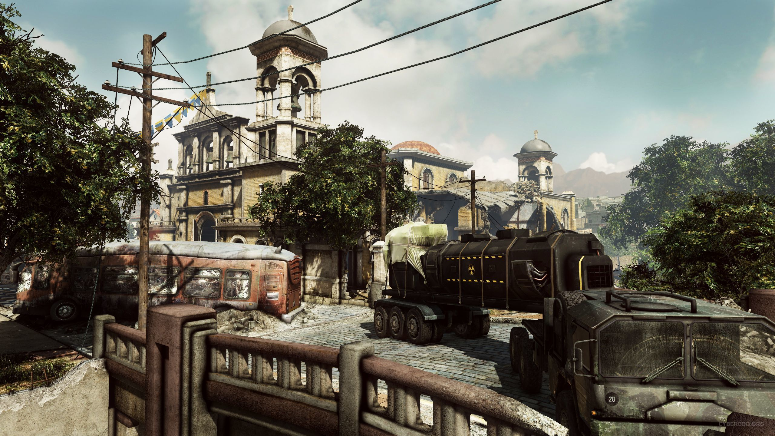COD Ghosts Onslaught Containment Environment