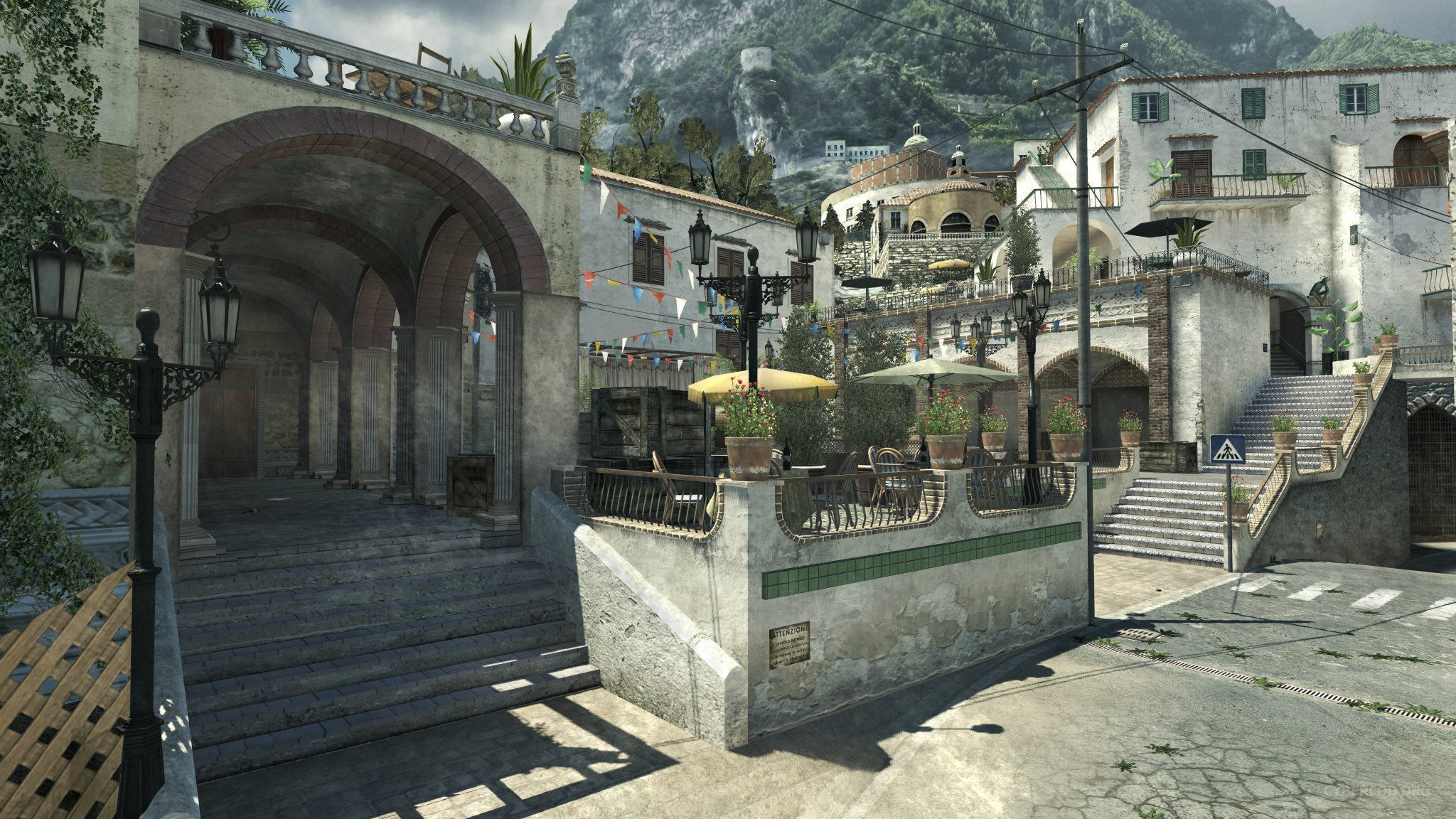 Call of Duty: Modern Warfare 3 (First DLC pack) Piazza market square