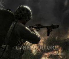 COD WAR fire & destruction