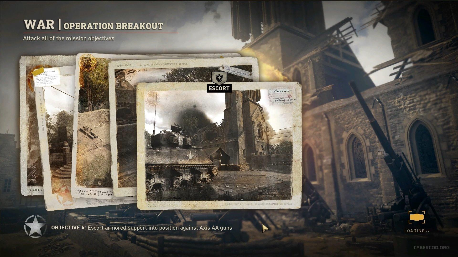 Играю в Call of Duty: WWII