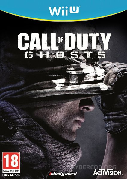 Call of Duty: Ghosts Wii Box