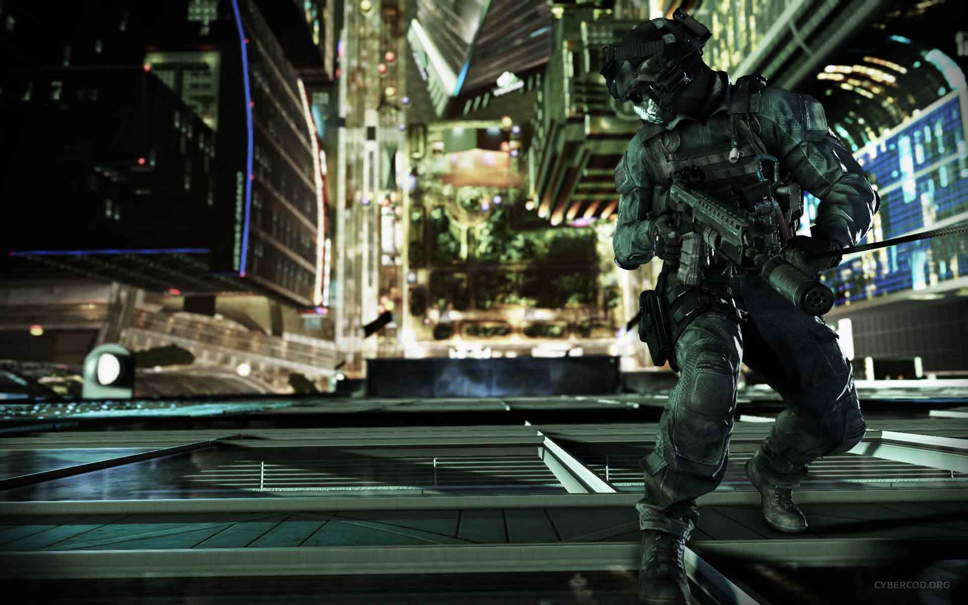 Call of Duty: Ghosts Federation Day Rappel
