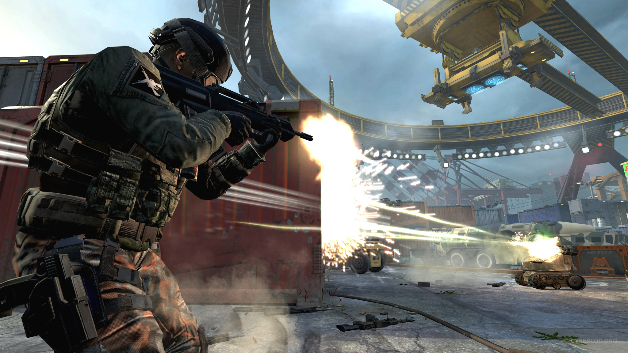 Call Of Duty: Black Ops II Between A drone And A hard place