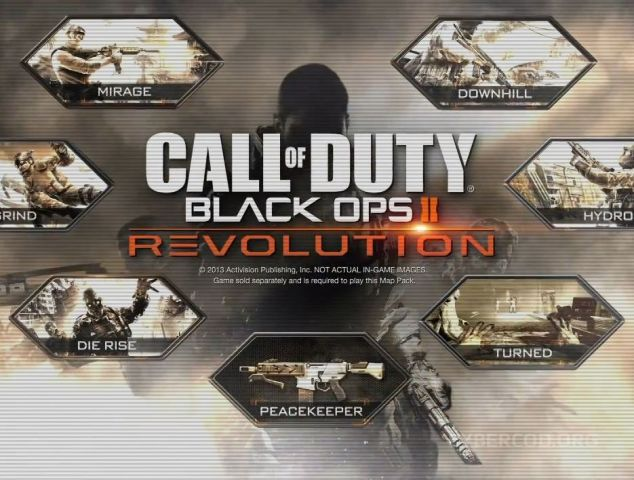 Call Of Duty Revolution Map Pack on