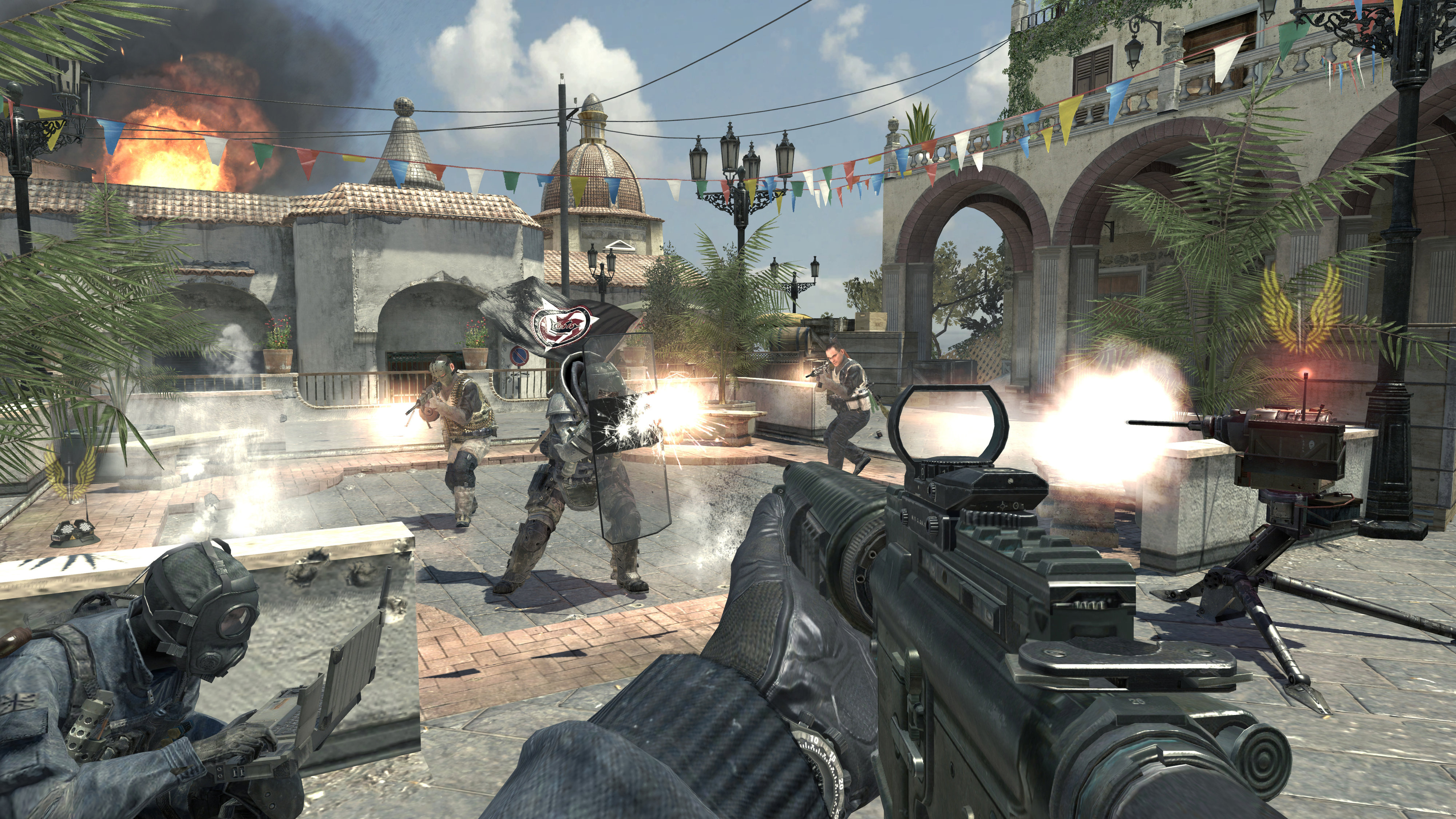 Call of Duty: Modern Warfare 3 (First DLC pack) Piazza town square