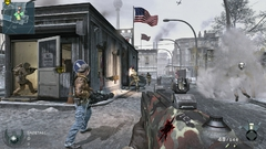 First Strike Gameplay-Screen Berlin Wall