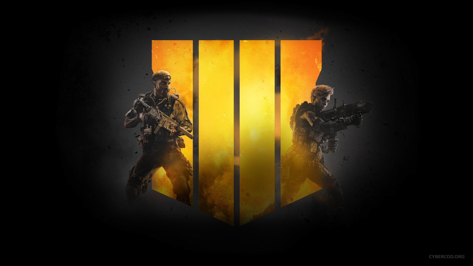 CALL OF DUTY: BLACK OPS IIII LOGO SOLDIERS