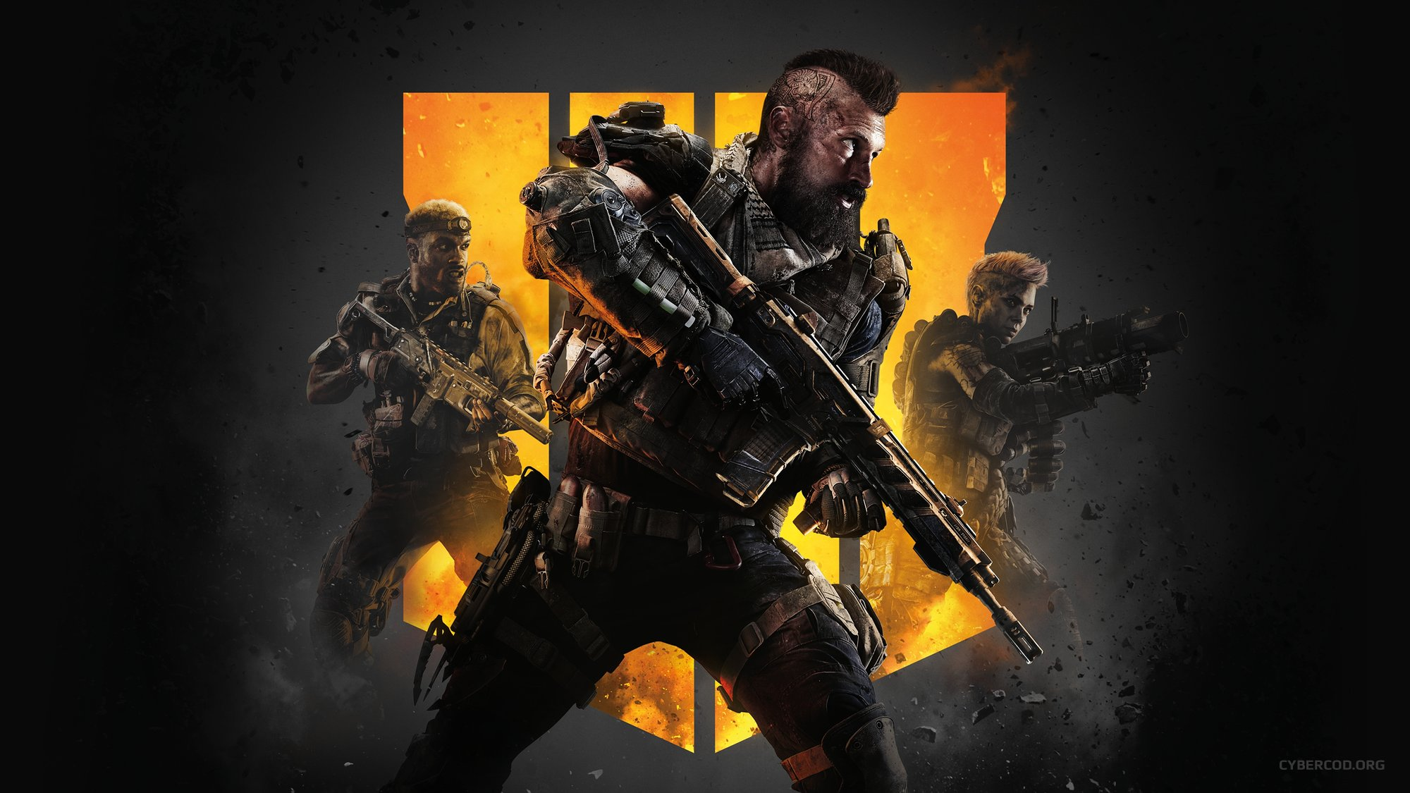 CALL OF DUTY: BLACK OPS IIII VIDEO GAME SOLDIERS