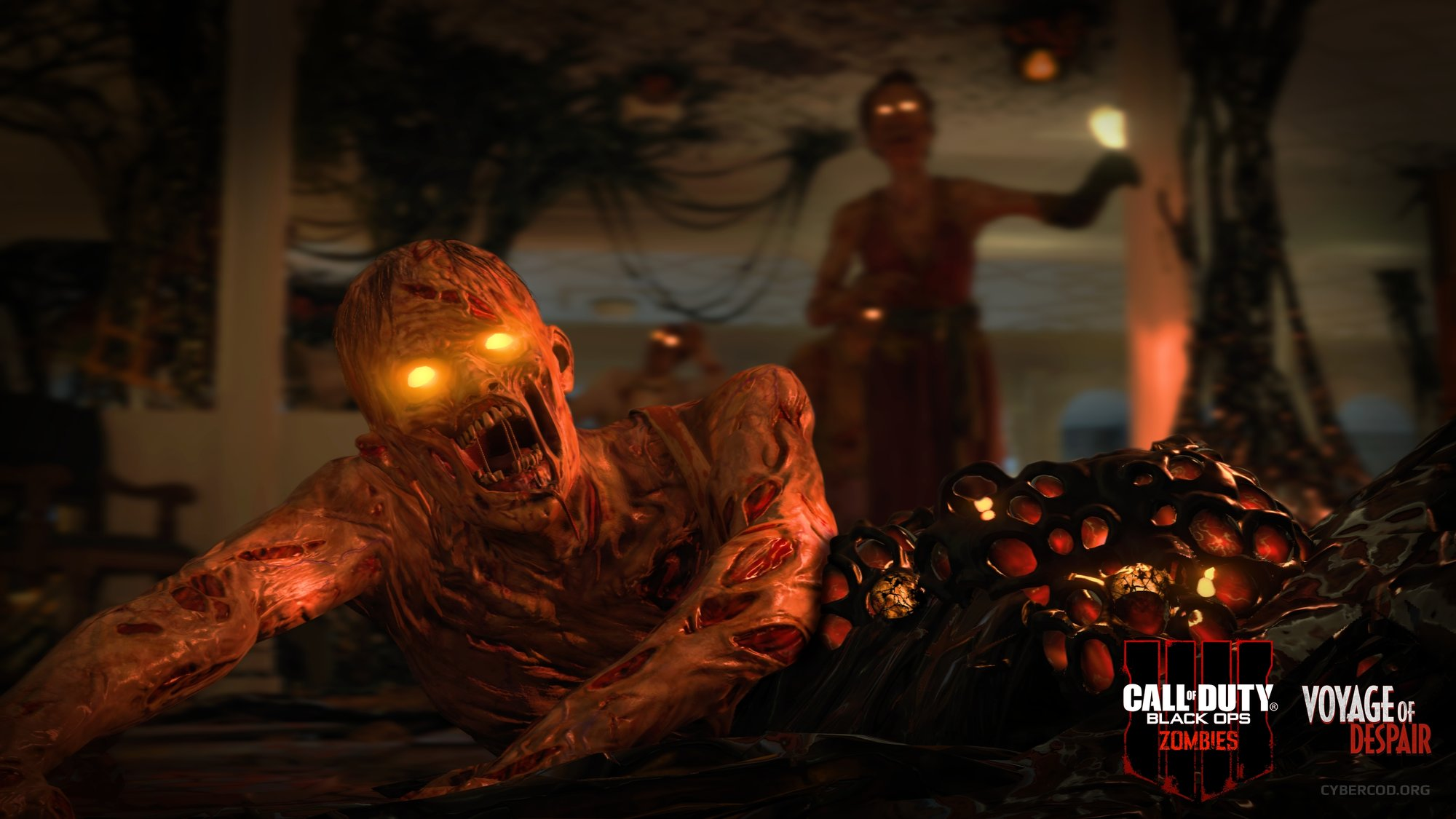 CALL OF DUTY: BLACK OPS 4 ZOMBIES VOYAGE OF DESPAIR CHAOS STORY