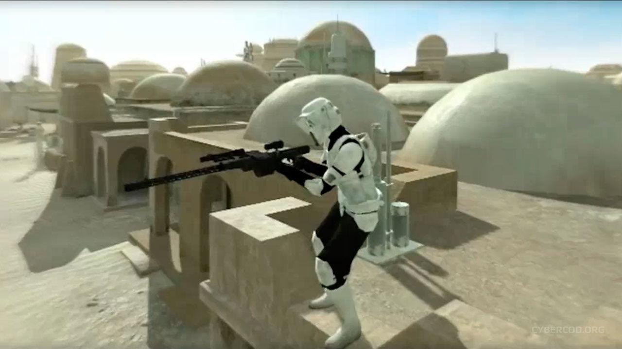 Видео модификации Star Wars